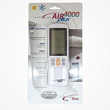 Mando a distancia Universal para aire acondicionado. 4000 codigos