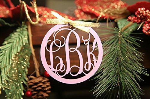 Personalized Christmas Ornament- Circle Hollow - Circle Rayban