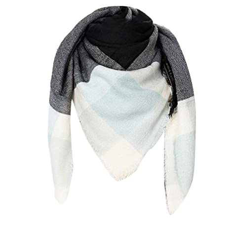 e4c21feb7 Scarf Shawl Wrap 2019, Ladies Long Scarf, Women Plaid Blanket Thick Winter  Scarf Tartan Chunky Wrap Oversized Shawl Cape: Amazon.ca: Clothing &  Accessories