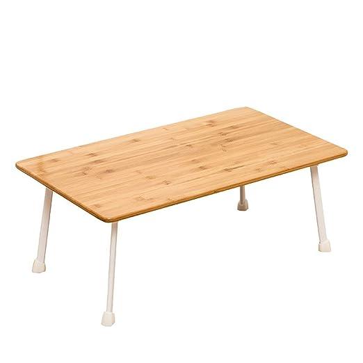 Mesa Ordenador Portátil Soporte Portatil Bambú tabla del cuaderno ...