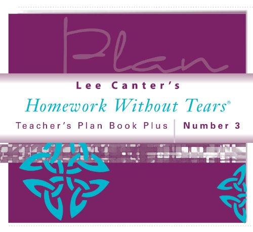 Teacher's Plan Book Plus #3: Homework Without Tears
