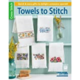 LEISURE ARTS Towels to Stitch Book