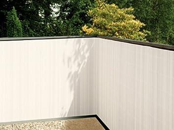 Balkon Sichtschutz Weiãÿ | Amazon De Balkonsichtschutz Weiss 90x300 Kunststoff
