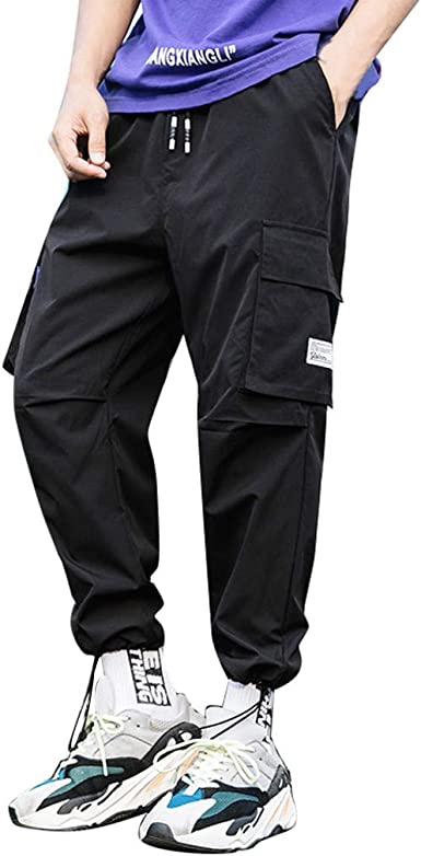 Palarn Sports Pants Casual Cargo Shorts Fashion Men Overalls Overalls Casual Sport Work Loose Sweatpants Trouser Pants
