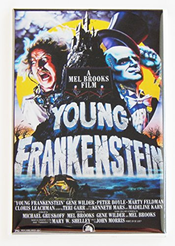 Young Frankenstein Movie Poster Fridge Magnet