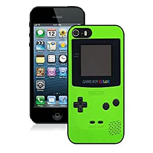 Classic Green Gameboy Iphone 5 5s Case Black Cover.