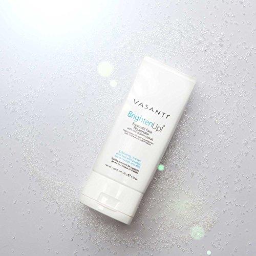 Vasanti Cosmetics Brighten Up! Enzymatic Face Rejuvenator Exfoliating Face Wash by VASANTI - Get Healthy Glowing Skin - Original Size (120g) by Vasanti Cosmetics (Image #2)