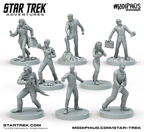 Modiphius Star Trek Adventures: Next Generation (32MM Minis Box Set)