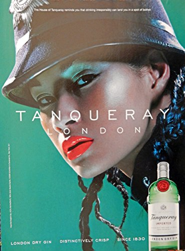 tanqueray-dry-gin-print-ad-full-page-color-illustration-tanqueray-london-original-magazine-art