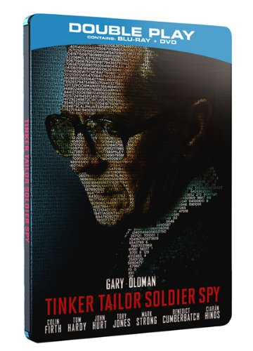 Tinker Tailor Soldier Spy (Ltd Edition Steelbook) - Double Play (Blu-ray + DVD)