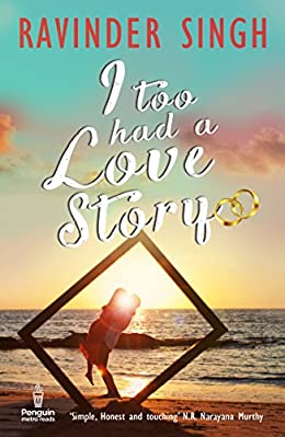 Ravinder Singh Books List : I too Had A Love Story