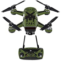 Skin for DJI Spark Mini Drone Combo - Molon Labe| MightySkins Protective, Durable, and Unique Vinyl Decal wrap cover | Easy To Apply, Remove, and Change Styles | Made in the USA