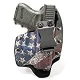 Infused Kydex USA Slanted Flag IWB Hybrid Concealed Carry Holster (Right-Hand, Springfield XDS 3.3')