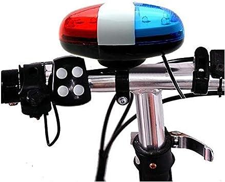CLOOM Luces Bicicleta Delantera Linterna Bicicleta Batería con 6 ...