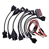 8pcs OBD2 II Adapter Cable For Autocom CDP Pro Car Diagnostic Interface Scanner