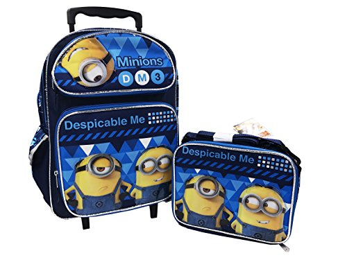Despicable Me 3 16in Backpack and Lunch Box