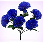 Inna-Wholesale-Art-Crafts-New-6-Carnations-Blue-Silk-Bridal-Bouquet-Centerpieces-Decorating-Flowers-Decoration-Perfect-for-Any-Wedding-Special-Occasion-or-Home-Office-Dcor