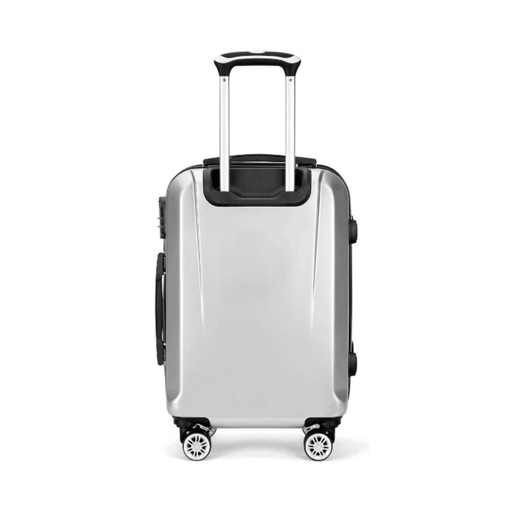 Flight Case con Maleta con Case Maletas con 4 Ruedas y Maleta de Equipaje de Mano con Cabina incorporada y Bloqueo de combinación de 3 dígitos Aprobado por TSA. e3f26f