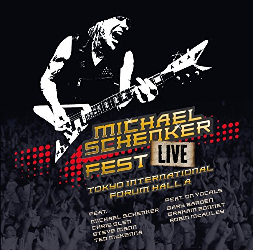 CD : Michael Schenker - Fest: Live Tokyo International Forum Hall A (2 Disc)
