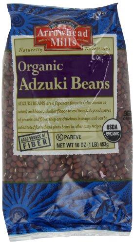 Arrowhead Mills Organic Adzuki Beans, 1-Pound Unit (Pack of 6)
