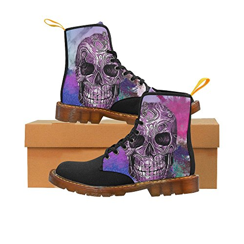 LEINTEREST Skull Martin Boots Fashion Shoes For Women hfDAow