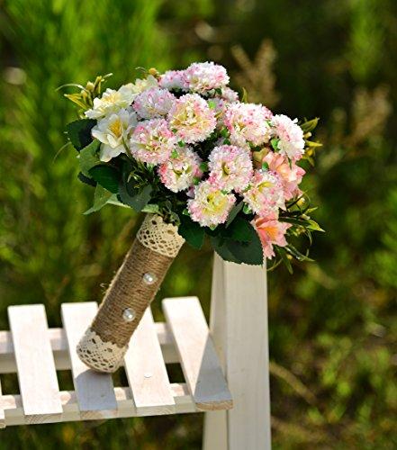 YAMUDA-Bridal-Bridesmaid-Flower-Girls-Wedding-Bouquet-Flowers-Hydrangeas-Handmade-Real-Touch-Silk-Artificial-Flowers-Rose-Wedding-Decoration