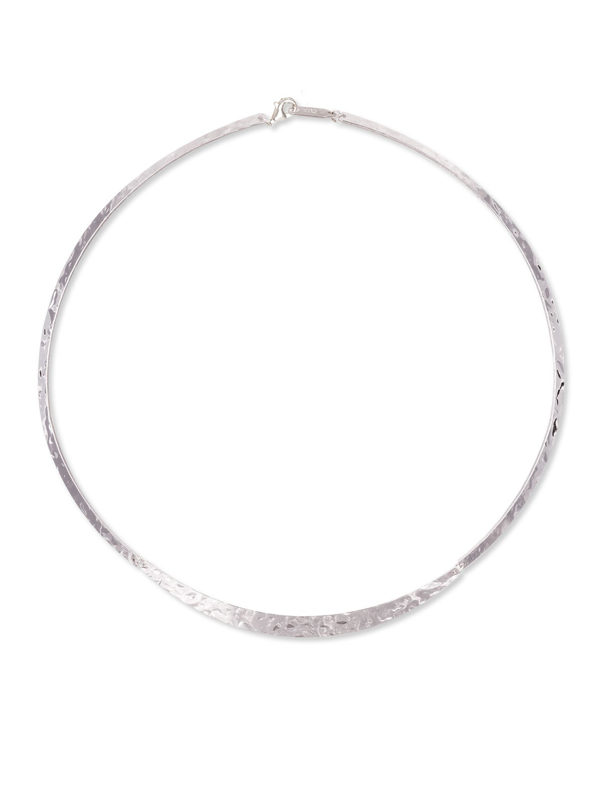 Holly Yashi Gemma Necklace, Made in California (Silver-Plated-Base)