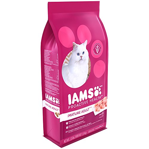 Iams Food Coupons - Iams PROACTIVE HEALTH Mature Adult Dry Cat Food 3.5 Pounds