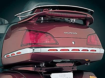 GOLDWING GL1800 Lighted Trunk Moldings with Red Lens MADE BY KURYAKYN 3201