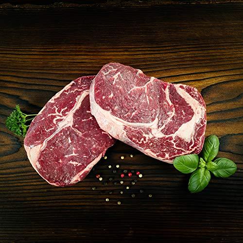 WURSTBARON® – Grill Paket DELUXE für 2 Personen – Ribeye Steak – über 700 g