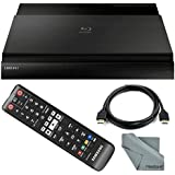 Samsung BD-J7500 3D Smart Blu-Ray Disc Player with HDMI Cable + Remote + FiberTique Cleaning Cloth