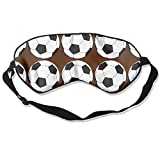 HEHE TAN Soccer Football Eye Mask Sleeping Mask Silk Mask Shade Sleep Gossles Eyeshade/Blindfold