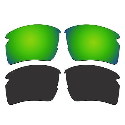 Amazon.com: anteojos de sol polarizadas verde esmeralda y ...