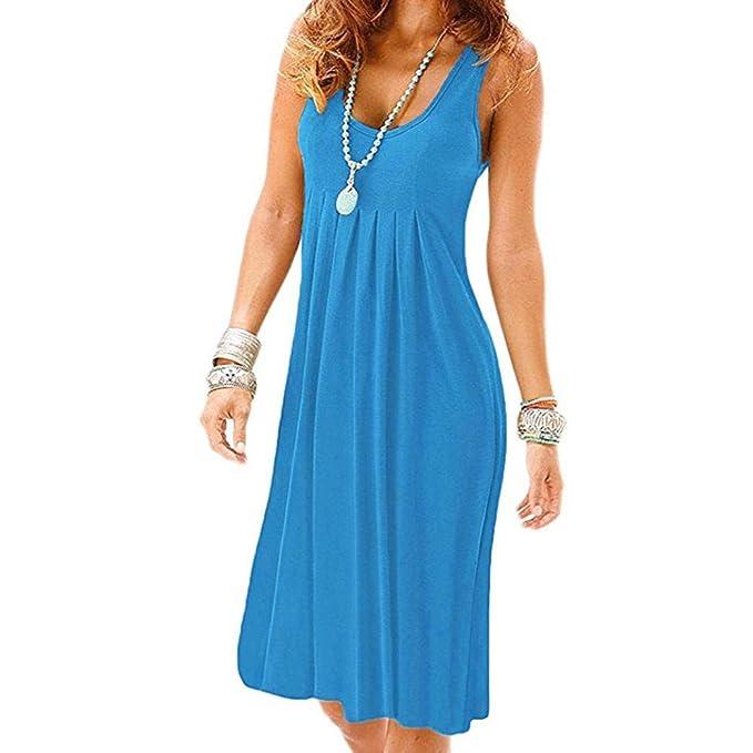Damen kleid sommer knielang