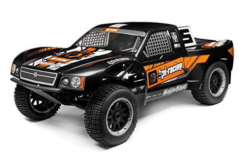 Baja 5SC-1 Truck Painted Body (Matte Black) 110675
