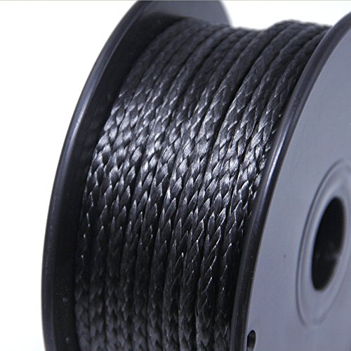 emma kites 600lbs 100 feet 1.3mm 100% UHMWPE Braided Polyethylene Cord Spool - Heavy Duty Low Stretch - Outdoor Utility Cord Kitesurfing String Boating Fishing Speargun Shooting Line by emma kites (Image #4)