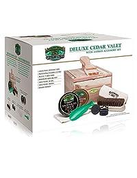 Moneysworth & Best 10 Piece Premium Cedar Valet