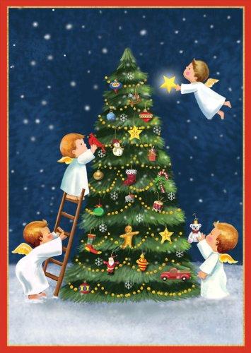 Caspari Boxed Christmas Cards: Amazon.com
