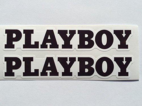 2 Playboy Name Bunny Die Cut ()