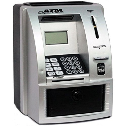 My Personal ATM Money / Coin Bank Machine with Digital Display by RINCO
