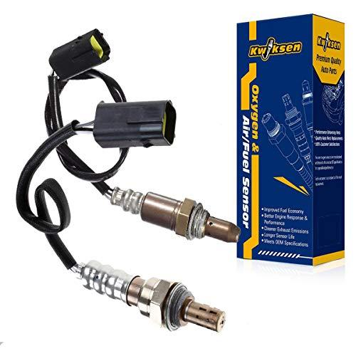 Kwiksen 2pcs Upstream and Downstream Oxygen Sensor 1 Sensor 2 Bank 1 Bank 2 Replacement for Altima Base-2.5L S-2.5L SL-2.5L 2002-2003// Sentra SE-R-2.5L SE-R Spec V-2.5L 2002-2003