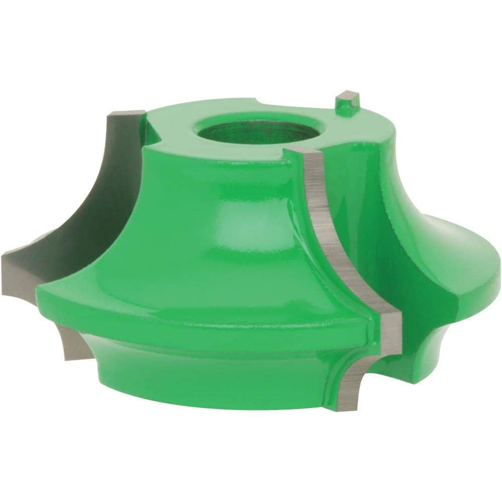 1//2-Inch Bore 1//4-Inch and 1//2-Inch Quarter Round Grizzly C2004 Shaper Cutter