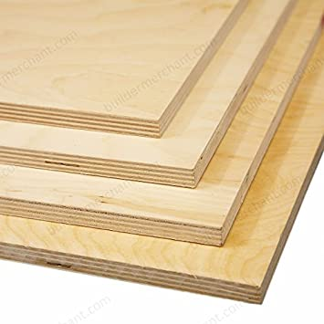 Birch Plywood 15mm 1220mm X 1220mm 4ft X 4ft Package Quantity 1 Sheet Amazon Co Uk Diy Tools