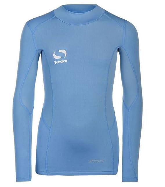 Sondico Camiseta térmica - para niño Azul azul celeste 7-8 años: Amazon.es: Ropa y accesorios