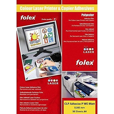 Amazon.com: Film adesivo per stampanti e copiatrici Folex ...