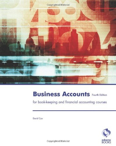 Business Accounts (Accounting & Finance) by David Cox (31-May-2012) Paperback