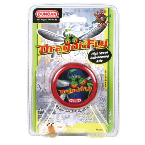 Dragonfly Ball-Bearing Yo-Yo (colors may vary) by Duncan