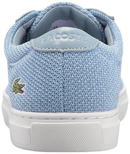 Donna Lacoste L.12.12 317 2 Sneaker Fashion Blu