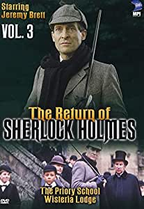 The Return of Sherlock Holmes (Vol. 3) - The Priory School/Wisteria Lodge