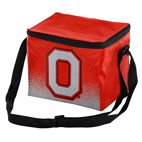 Ohio State Buckeyes Print (NCAA College Team Logo - Gradient Print - Lunch Bag Cooler - Holds up to a 6 Pack(Ohio State Buckeyes))